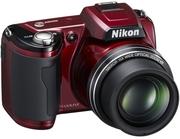 Фотоапарат Nikon Coolpix L110 Red