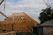Деревянная крыша,  гарантия 30 лет