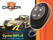 Автосигнализация CYCLON-001v2  220грн./шт.