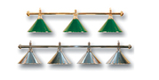 Лампы для бильярдного стола