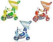 Новые! Трёхколёсный велосипед  с крышей,  с ручкой