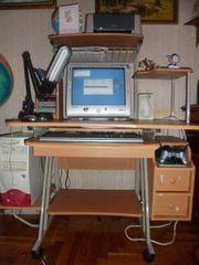 Стол компьютерный + компьютер