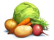 Продажа свеклы,  капусты,  моркови оптом в Украине,  оптовая цена на овощ