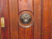 Антикварная мебель нач. XX ст. - шкаф и зеркало