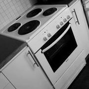 Установка электрической плиты Полтава. Установка,  подключение плиты