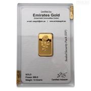 Инвестиционное золото в слитках