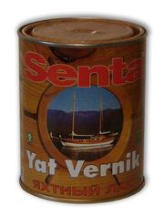 Лак паркетный Senta,  лак яхтный Сента