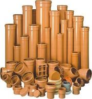 Трубы ПВХ и фитинги для наружной канализации Полтава