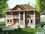 Строительство панельно-каркасных домов под ключ (СИП-панели) 282, 94 м2