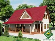 Строительство панельно-каркасных домов под ключ (СИП-панели) 154, 64 м2