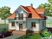 Строительство панельно-каркасных домов под ключ (СИП-панели) 98, 48 м2