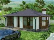 Строительство панельно-каркасных домов под ключ (СИП-панели) 89, 03 м2
