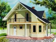 Строительство панельно-каркасных домов под ключ (СИП-панели) 135, 95 m2