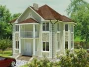 Строительство панельно-каркасных домов под ключ (СИП-панели) 154, 82 m2