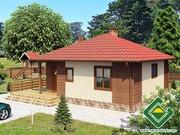 Строительство панельно-каркасных домов под ключ (СИП-панели) 69, 23 m2