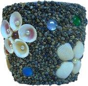 Эксклюзивный подарок ручной работы Цветочный горшок На морском пляже