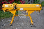 Ручной листогиб станок Sorex серийной модели ZRS 1660