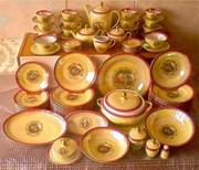 сервиз столовый, чайный, кофейный мадонна ГДР