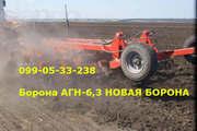 ґрунтообробний напівнавісний АГН-6, 3
