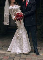 CРОЧНО!!!продам свадебное платье