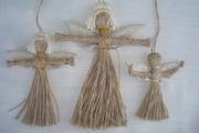 подарок :Ангелочек-оберег и подарок. Кукла-мотанка.