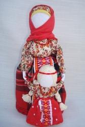 Подарок мамы дочери.Кукла-мотанка Ведунья-няня. Оберег в семью.