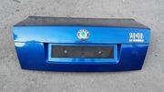 Крышка багажника на Skoda SuperB