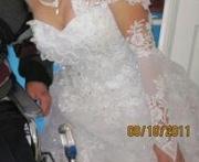 продам свадебное платье б/у в хорошем состоянии