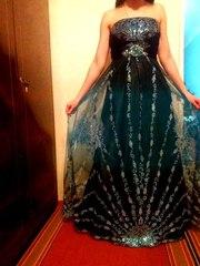 Продам вечернее платье в идеальном состоянии