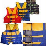 Спасательный водный страховочный жилет универсальный: 30-50 кг