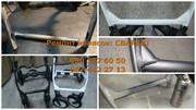 Качественный ремонт детских колясок - аргонная сварка алюминия,  стали.