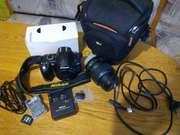 Терміново!!!Фотоаппарат Nikon D3000