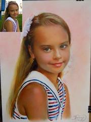 Художественный портрет по фото как подарок Полтава,  Украина