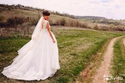 Продам шикарное свадебное платье!