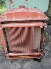 Радиатор охлаждения к двигателю Д-65 А, конверсия
