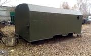 Кунг вагончик,   двухсекционный,   демонтируемый с автомобиля Камаз