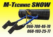 Снегоуборочная лопата M-Technic(МТЗ,  ЮМЗ,  Т-40,  Т-150)